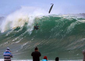 Swell levanta The Wedge