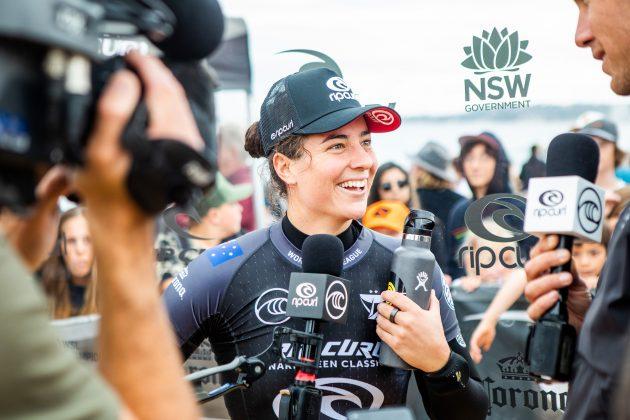 Tyler Wright, Narrabeen Classic 2021, Sidney, Austrália. Foto: WSL / Miers.