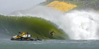 Big swell no Marrocos