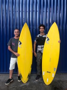 Sylvio Zampol e Eric Bahia trabalham juntos há mais de um ano.