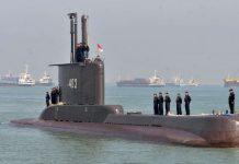 Onda afunda submarino?