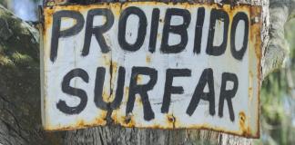 Proibido surfar?