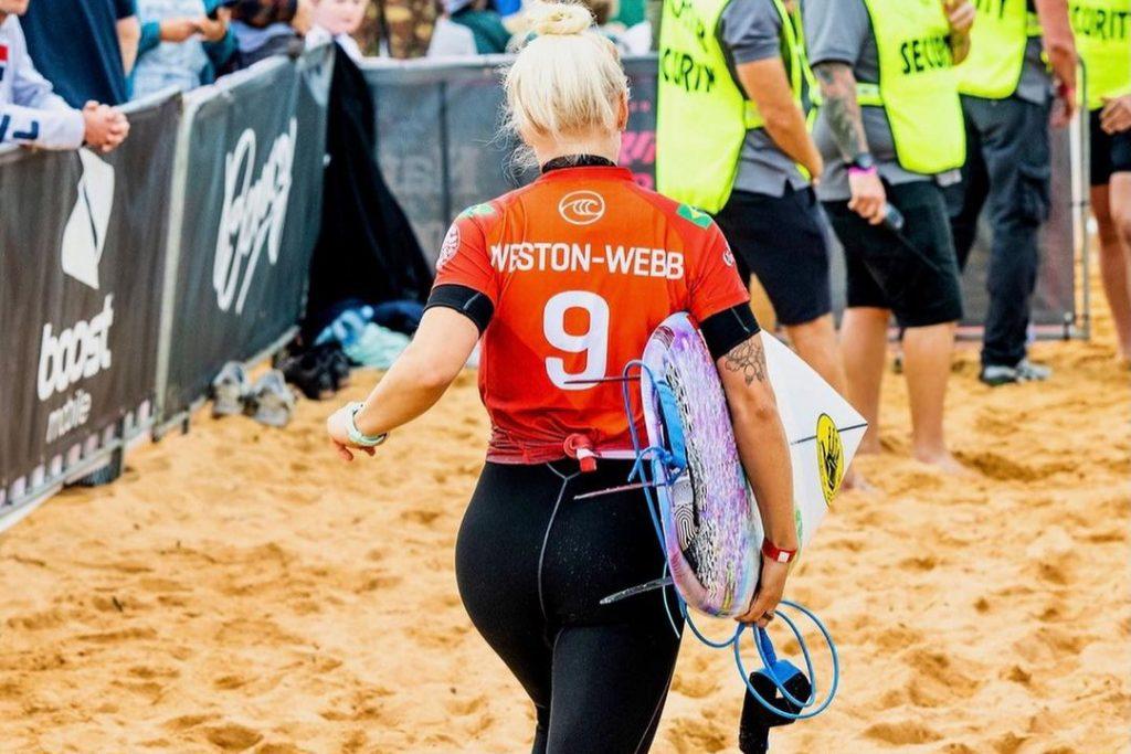 Tatiana Weston-Webb continua em grande fase no circuito mundial.