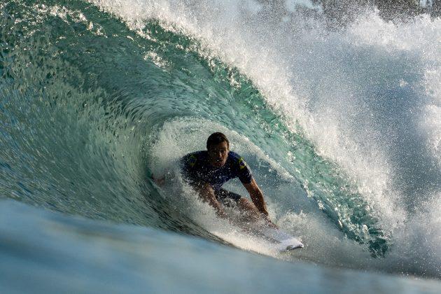 Ryan Callinan, Surf Ranch Pro 2021, Lemoore, Califórnia (EUA). Foto: WSL / Pat Nolan.