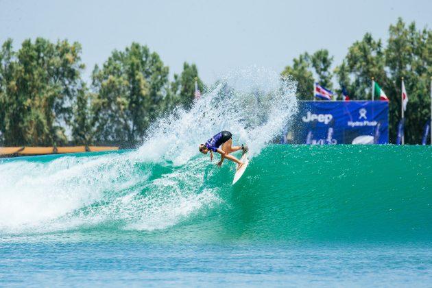 Courtney Conlogue, Surf Ranch Pro 2021, Lemoore, Califórnia (EUA). Foto: WSL / Jackson Van Kerk.