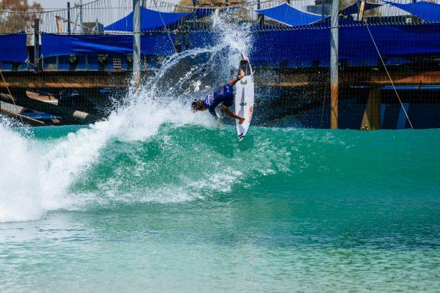 Peterson Crisanto, Surf Ranch Pro 2021, Lemoore, Califórnia (EUA). Foto: WSL / Pat Nolan.
