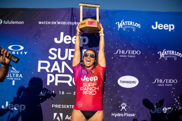 Johanne Defay, Surf Ranch Pro 2021, Lemoore, Califórnia (EUA). Foto: WSL / Heff.