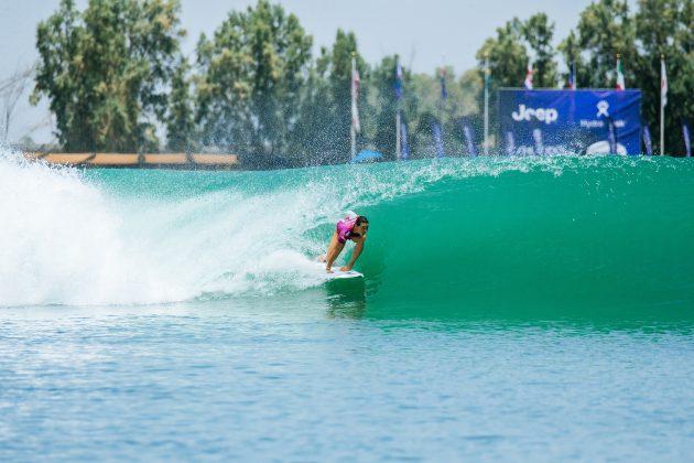 Johanne Defay, Surf Ranch Pro 2021, Lemoore, Califórnia (EUA). Foto: WSL / Jackson Van Kerk.