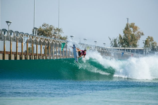 Leonardo Fioravanti, Surf Ranch Pro 2021, Lemoore, Califórnia (EUA). Foto: WSL / Heff.