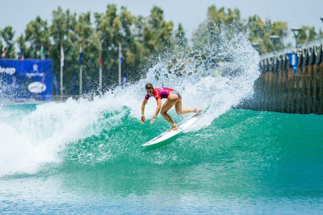 Coco Ho, Surf Ranch Pro 2021, Lemoore, Califórnia (EUA). Foto: WSL / Jackson Van Kerk.