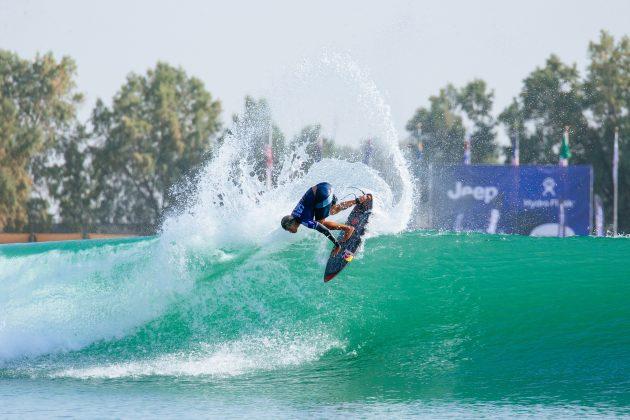 Kanoa Igarashi, Surf Ranch Pro 2021, Lemoore, Califórnia (EUA). Foto: WSL / Jackson Van Kerk.