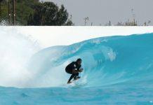 Altas ondas na piscina brasileira