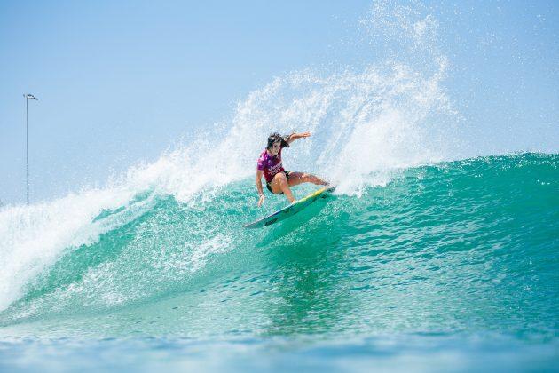 Caroline Marks, Surf Ranch Pro 2021, Lemoore, Califórnia (EUA). Foto: WSL / Morris.