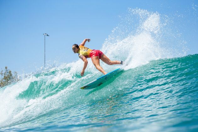 Carissa Moore, Surf Ranch Pro 2021, Lemoore, Califórnia (EUA). Foto: WSL / Morris.
