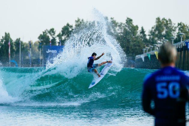 Miguel Pupo, Surf Ranch Pro 2021, Lemoore, Califórnia (EUA). Foto: WSL / Jackson Van Kerk.