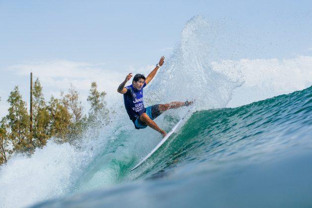 Miguel Pupo, Surf Ranch Pro 2021, Lemoore, Califórnia (EUA). Foto: WSL / Morris.