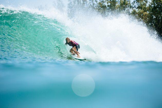 Caitlin Simmers, Surf Ranch Pro 2021, Lemoore, Califórnia (EUA). Foto: WSL / Morris.