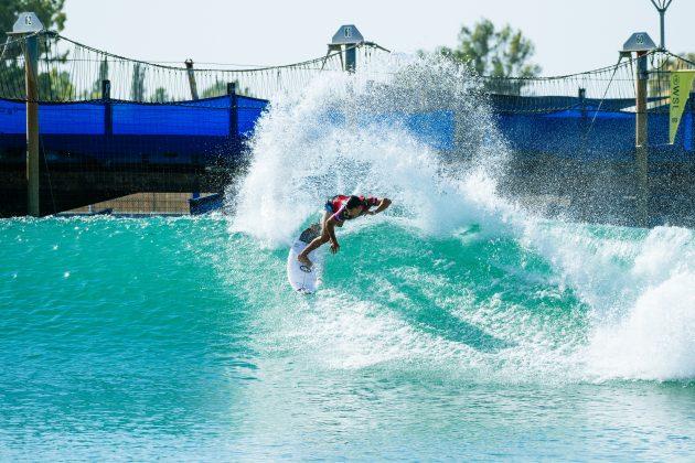 Lucas Vicente, Surf Ranch Pro 2021, Lemoore, Califórnia (EUA). Foto: WSL / Pat Nolan.