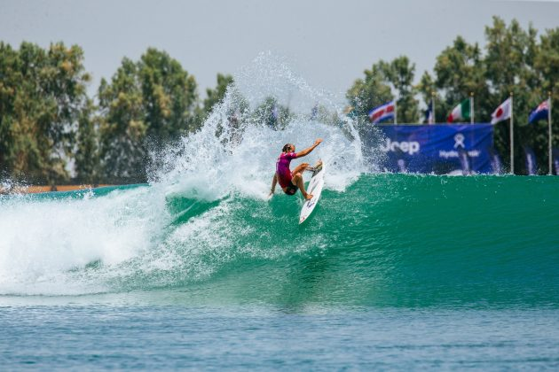 Owen Wright, Surf Ranch Pro 2021, Lemoore, Califórnia (EUA). Foto: WSL / Jackson Van Kerk.