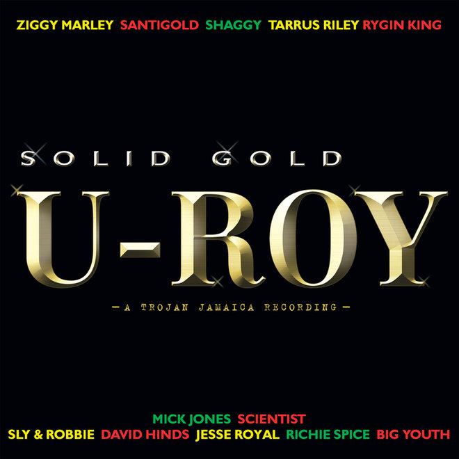 """Arte de """"Solid Gold"""", álbum póstumo de U-Roy."""