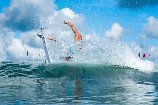 Italo Ferreira, Jogos Olímpicos 2021, Tsurigasaki Beach, Ichinomiya, Chiba, Japão. Foto: ISA / Ben Reed.