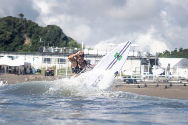 Silvana Lima, Jogos Olímpicos 2021, Tsurigasaki Beach, Ichinomiya, Chiba, Japão. Foto: ISA / Sean Evans.