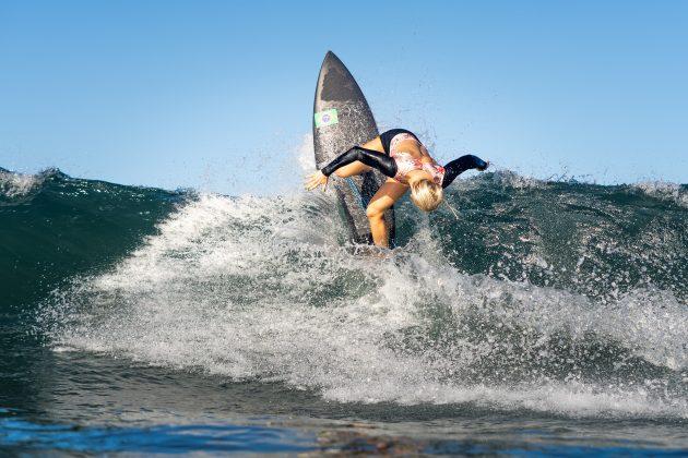 Tatiana Weston-Webb, Jogos Olímpicos 2021, Tsurigasaki Beach, Ichinomiya, Chiba, Japão. Foto: ISA / Sean Evans.