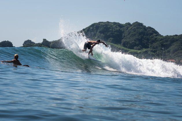 Manuel Selman, Jogos Olímpicos 2021, Tsurigasaki Beach, Ichinomiya, Chiba, Japão. Foto: ISA / Sean Evans.