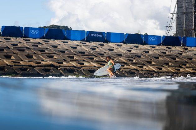 Dominic Barona, Jogos Olímpicos 2021, Tsurigasaki Beach, Ichinomiya, Chiba, Japão. Foto: ISA / Sean Evans.