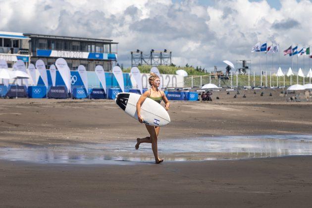 Anat Leilor, Jogos Olímpicos 2021, Tsurigasaki Beach, Ichinomiya, Chiba, Japão. Foto: ISA / Sean Evans.