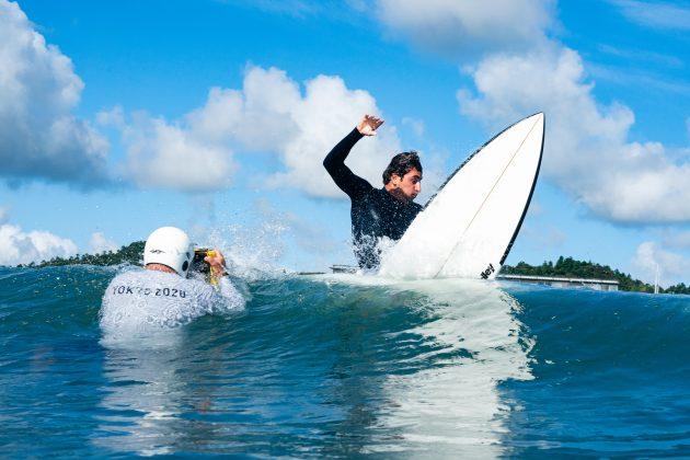 Leo Fioravanti, Jogos Olímpicos 2021, Tsurigasaki Beach, Ichinomiya, Chiba, Japão. Foto: ISA / Ben Reed.