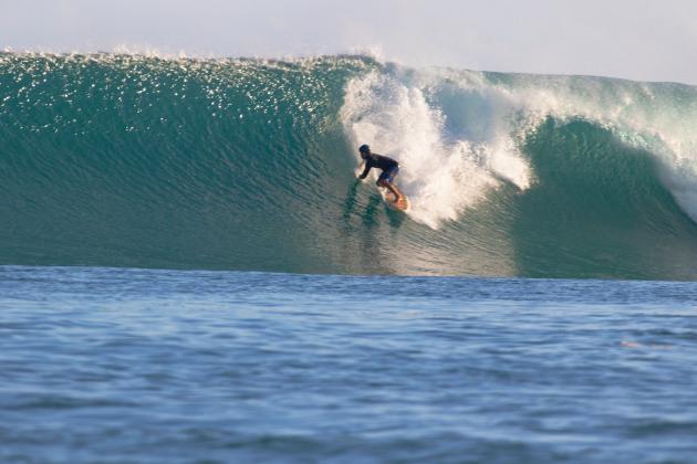 João Maurício Jabour, Mentawai, Indonésia. Foto: Luana Panek / Hidden Bay Resort.