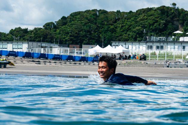 Hiroto Ohhara, Jogos Olímpicos 2021, Tsurigasaki Beach, Ichinomiya, Chiba, Japão. Foto: ISA / Ben Reed.