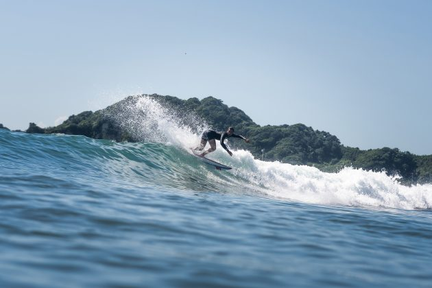 Ramzi Boukhiam, Jogos Olímpicos 2021, Tsurigasaki Beach, Ichinomiya, Chiba, Japão. Foto: ISA / Sean Evans.
