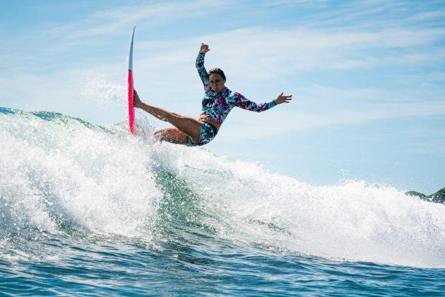 Carissa Moore, Jogos Olímpicos 2021, Tsurigasaki Beach, Ichinomiya, Chiba, Japão. Foto: ISA / Ben Reed.