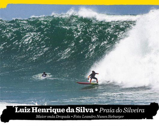 Luiz Henrique da Silva, Praia do Silveira (SC). Foto: Leandro Nunes Sieburger.