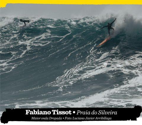 Fabiano Tissot, Praia do Silveira (SC). Foto: Luciano Javier Arribillaga.