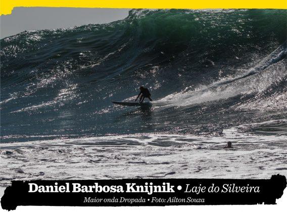 Daniel Barbosa Knijnik, Laje do Silveira (SC). Foto: Ailton Souza.