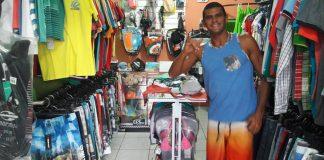 Surf Shop roubada em BF