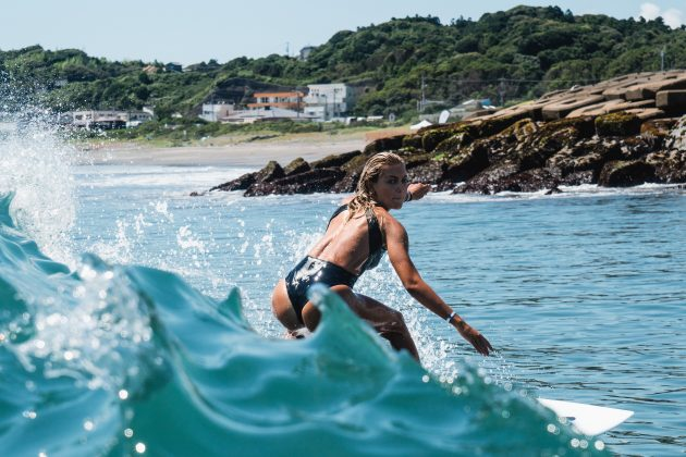 Leilani McGonagle, Jogos Olímpicos 2021, Tsurigasaki Beach, Ichinomiya, Chiba, Japão. Foto: ISA / Jimenez.