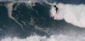 Surfe pesado no Leblon