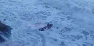 Surfista é resgatado