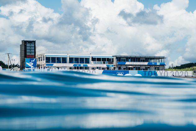 Tsurigasaki Beach, Jogos Olímpicos 2021, Tsurigasaki Beach, Ichinomiya, Chiba, Japão. Foto: ISA / Jimenez.