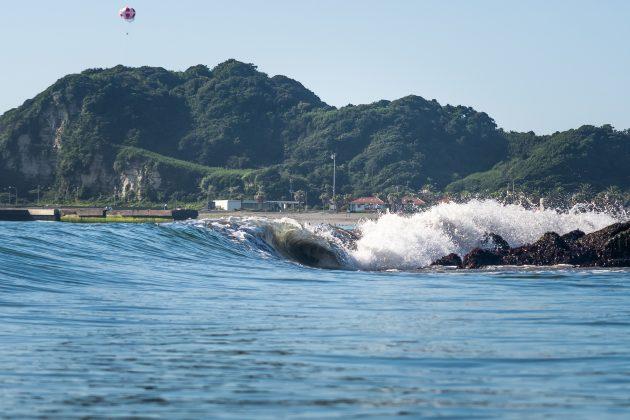Tsurigasaki Beach, Jogos Olímpicos 2021, Tsurigasaki Beach, Ichinomiya, Chiba, Japão. Foto: ISA / Sean Evans.