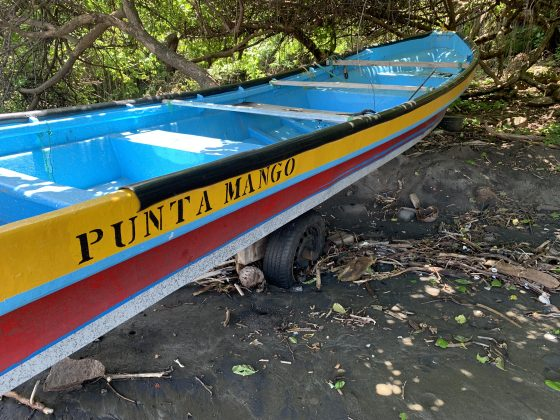 Barca do Fia, El Salvador. Foto: Arquivo pessoal.