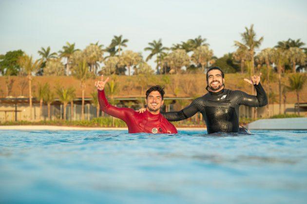 Gabriel Medina, Caio Castro, Surfland Brasil, Garopaba (SC). Foto: Divulgação.