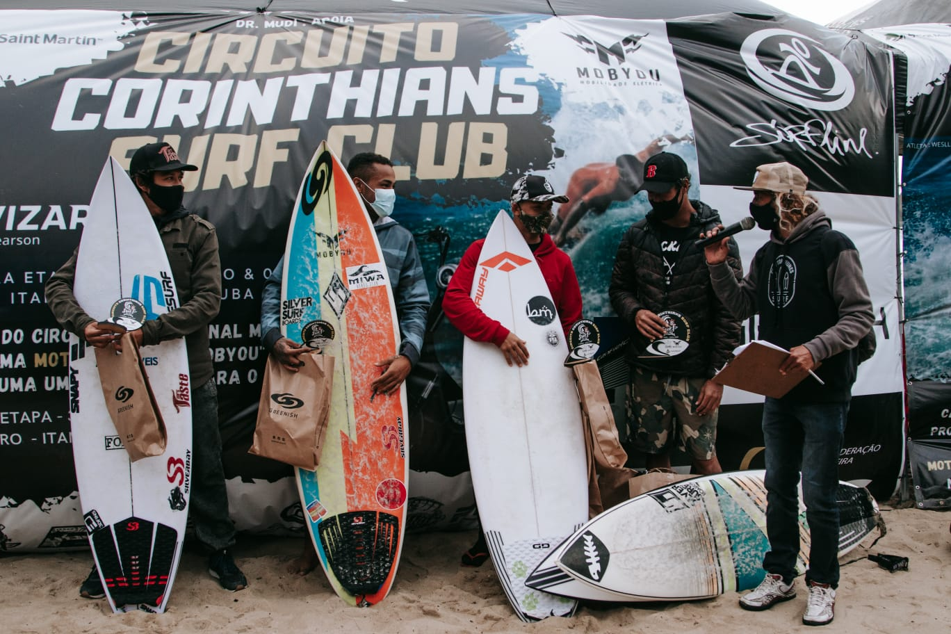 Competição contou com participação de atletas renomados.