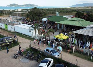 Bazar é sucesso em Floripa