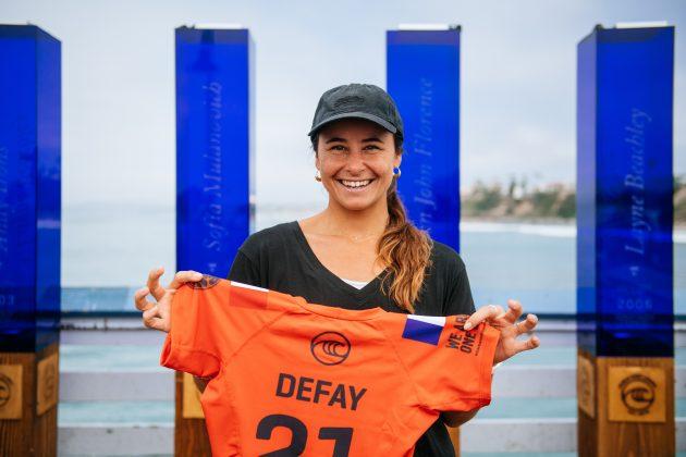 Johanne Defay, Rip Curl WSL Finals 2021, Trestles, Califórnia (EUA). Foto: WSL / Thiago Diz.