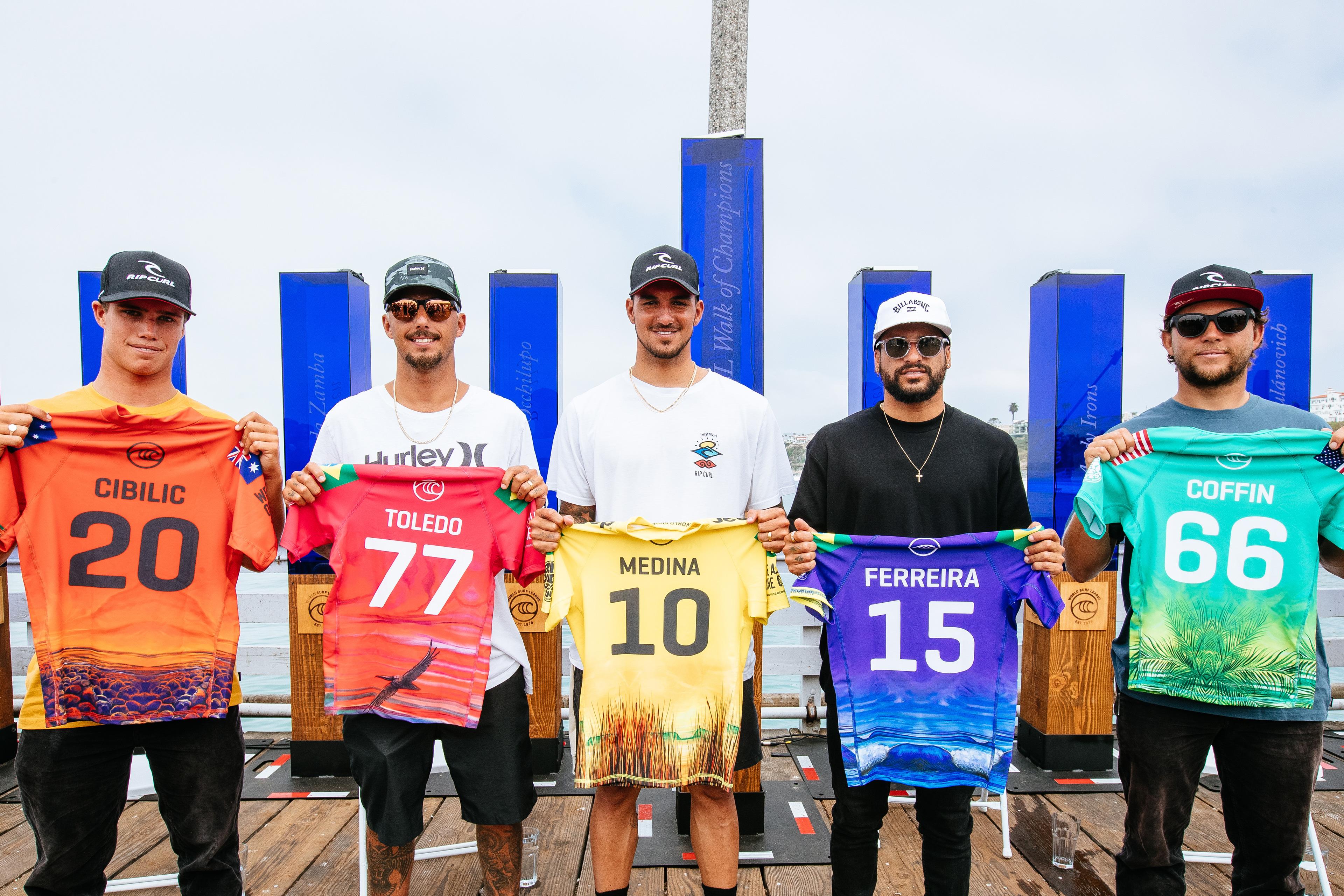 Final lotérica em Trestles reúne os cinco melhores surfistas da temporada.